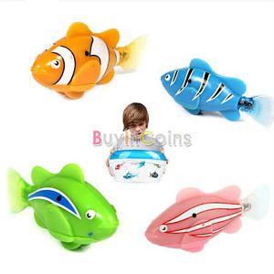 Novel Perfect Robo Electric Pet Fish Aquatic Kids Children Water Aquarium Toy