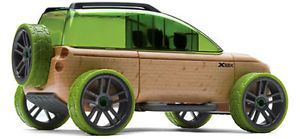 Automoblox x9 x Full Size SUV Sport Utility Vehicle Wooden Model Kids Toy New US