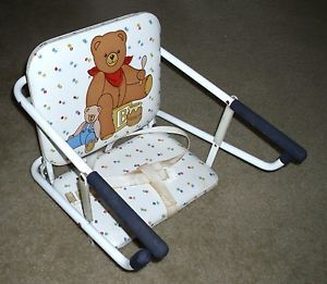 ... Graco Tot Loc Portable Booster Hook On High Chair Teddy Bear Look ...