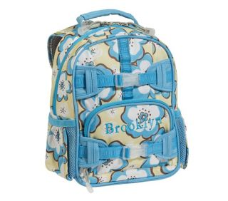 Pottery Barn Kids Hibiscus Backpack With Matching Classic Lunchbag