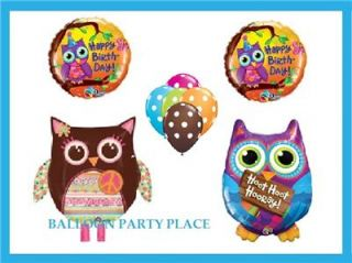 Huge Lot of Owl 1st Birthday Party Supplies Decorations Must See