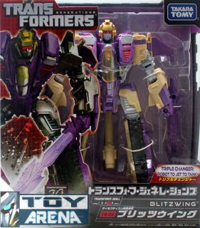 Transformers Generations TG 22 Blitzwing Decepticon Fall of Cybertron Takara