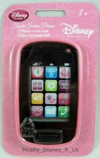 Princess Belle Tiana Aurora Smart Toy Cell Phone PDA Touch Screen