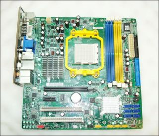 Foxconn RS740M03 8EKRS2H Socket AM2 Motherboard with I O Plate
