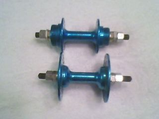 Old School BMX RARE Blue Ano Chair 36h Hubs Hutch Haro GT CW DG Elf SE Boss