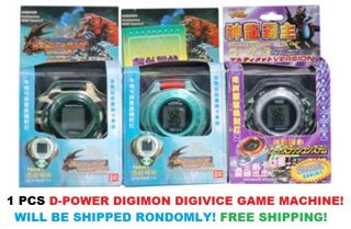 Digimon Digivice D Power Digital Game Machine Player Toy New Random Product