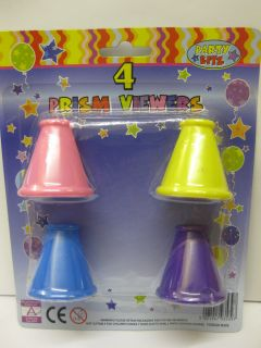48 x 4 Prism Viewers Party Bites Bags Fete Favor Toys Gifts Job Lot £ Shop Pound