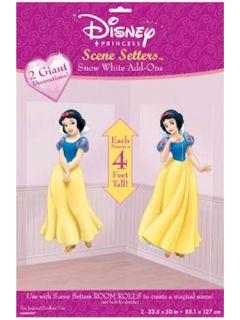 Disney Snow White Huge Party Scene Setter Over 4ft High