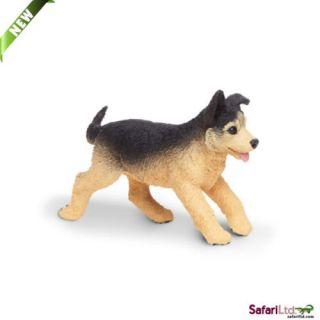 German Shepherd Puppy Running 251929NEW for 2013 Free SHIP Usaw $25 Safari
