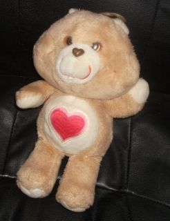 "1980's Care Bears 13"" Tenderheart Bear 1B"