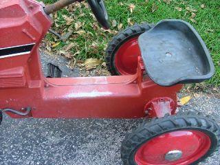 International Harvester Ertl Toy Pedal Tractor Vintage Ride On