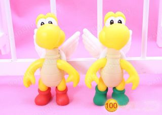 Styles Nintendo Super Mario Yoshi Bowser Wario Donkey Kong Ghost PVC Figure