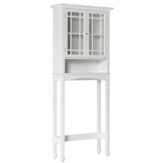 New Neal Bathroom Space Saver Over Toilet Cabinet White