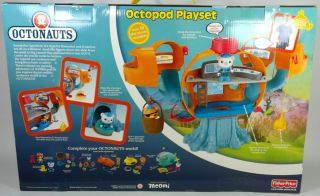 Octonauts Octopod Playset by Fisher Price Brand New in Box