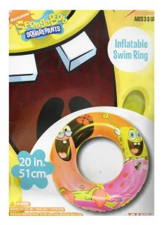 Childrens Kids Cartoon Character Inflatable Swim Ring Beach Ball Arm Bands Pool