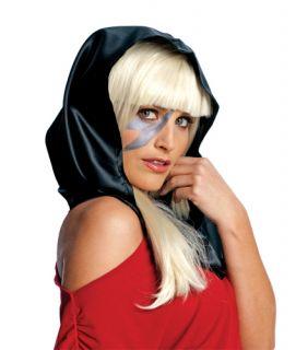 Black Lady Gaga Womens Halloween Head Scarf