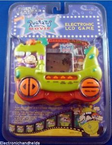Rugrats The Movie Tiger Electronic Handheld Video Game Kids Children's Toy LCD