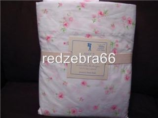 Pottery Barn Kids Amy Romantic Floral Queen Sheet Set