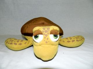 "Finding Nemo Large 18"" Plush Disney Store Turtle Dad Crush Hand Puppet Stuffed"