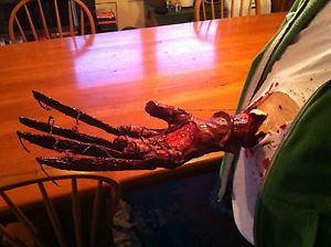 Freddy Krueger Chest Bursting Glove Horror Costume Prop