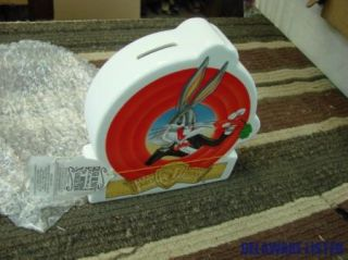 Bugs Bunny 50th Birthday Ceramic Bank by Applause 1989 New