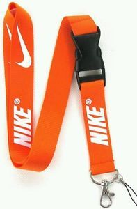 Nike Lanyard Orange New Great for School ID Badges