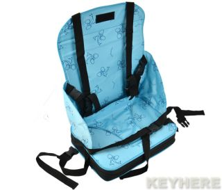 Sweet Portable Toddlers Dining Chair Booster Fold Up Seat Cushion Bag Hot Baby