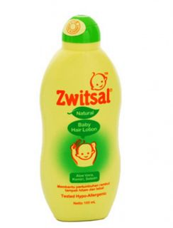 Zwitsal Package Baby Hair Lotion Aloe Vera Celery Candlenut Powder Milk Fresh