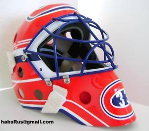 Patrick Roy Canadiens Hockey Goalie Mask NHL Masque