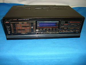 Fisher CA 891A Stereo Amplifier Amp Home Audio Vintage Works