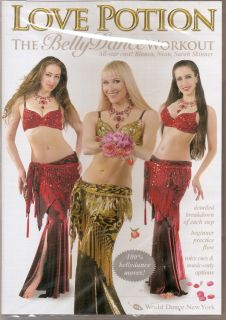 WDNY Neon Love Potion The Belly Dancing Workout New DVD