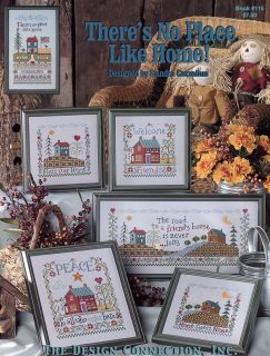 There's No Place Like Home Cross Stitch Pattern