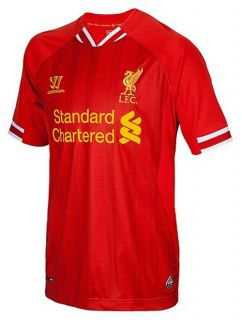 Liverpool Warrior Jersey Shirt TG Home Red 2013 2014