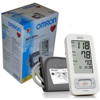 Omron Mit Elite Blood Pressure Monitor Upper Arm Automatic Hypertension Tester