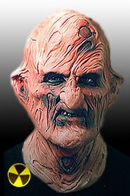 Freddy Krueger Acid Latex Mask Foam Halloween Scary Horror Freddy Kruger