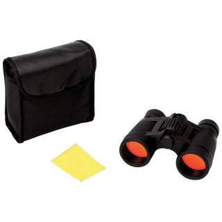 Compact Black 4x30 Binoculars Ruby Red Coated Lenses with Case Hunting Camping 24409152139