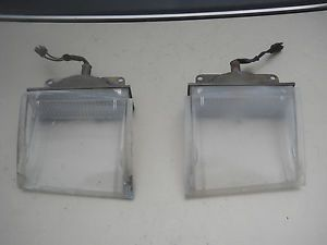 "1970 Plymouth ""Cuda"" Barracuda Parking Light Housings and Lenses 340 440 Hemi"