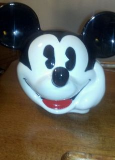 Mickey Mouse Head Cookie Jar