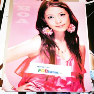 Korean Boa Kwon Hurricane Venus Identity CD Poster XL