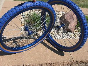 Old School BMX Araya 7x Wheels Suzue Hubs for Hutch GT Skyway DG Haro CYC