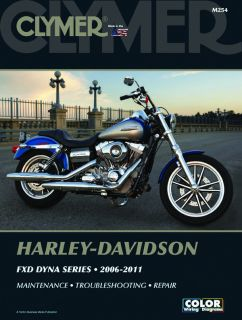 2006 2011 Harley Davidson Dyna Series Clymer Motorcycle Service Repair Manual