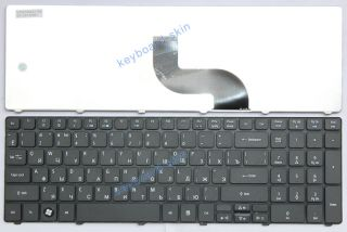For Gateway NV51B NV53A NV55C NV59C NV73A Series Laptop Keyboard RU КЛАВИАТУРА