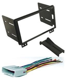 Ford Double DIN Radio Installation Dash Mount Kit Harness PKG249