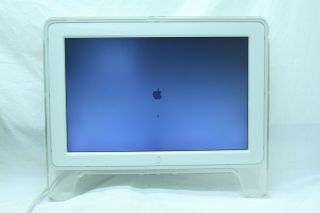 """Apple A1038 Cinema Display 20"""" Widescreen LCD Monitor w ADC Connector Defects"""