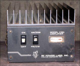 RF Power Labs V180 Amateur Ham Radio All Mode 143 149MHz 180 Watt VHF Amplifier