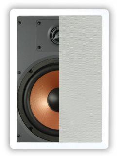 "150 Watts Custom in Wall Speaker OSD IW680 with Pivoting 1"" Silk Dome Tweeter"