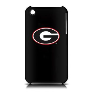 Georgia Bulldogs Apple iPhone 3G 3GS Hard Case Matte Black Faceplate