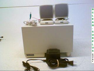 Altec Lansing ACS340 Computer Speakers w Satellites Accessories 21986943402
