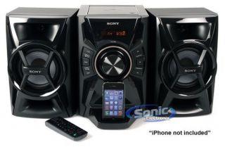 Sony MHC EC609IP iPhone iPod Speaker Dock CD Player Radio Boombox MHCEC609IP