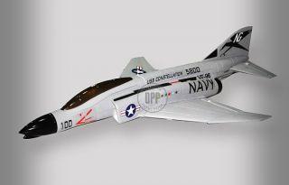 RC Jet F 4N Phantom DF J Power 2 4GHz EPS Brushless RC Airplane RTF